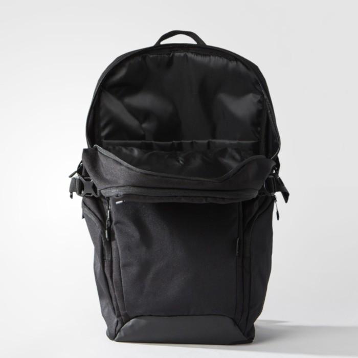 adidas 阿迪达斯 训练 男女 双肩背包 黑 aj4354 如图图片