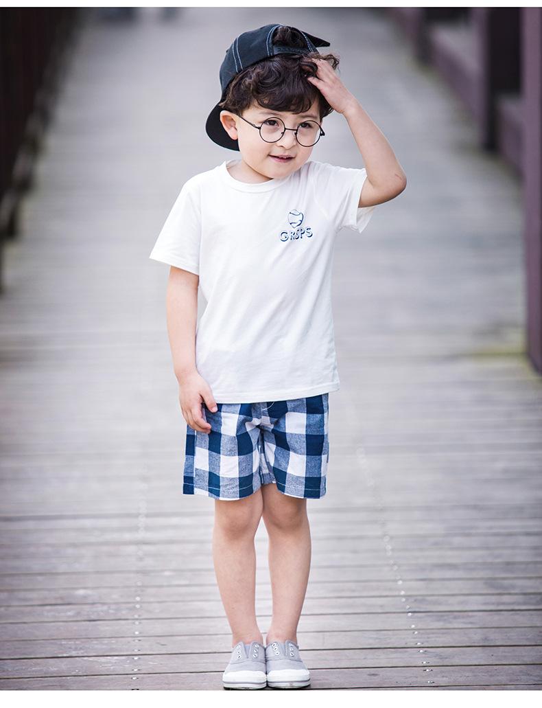 不可思议*男童夏装1童装2016新款2夏季韩版小孩衣服3周岁宝宝5儿童