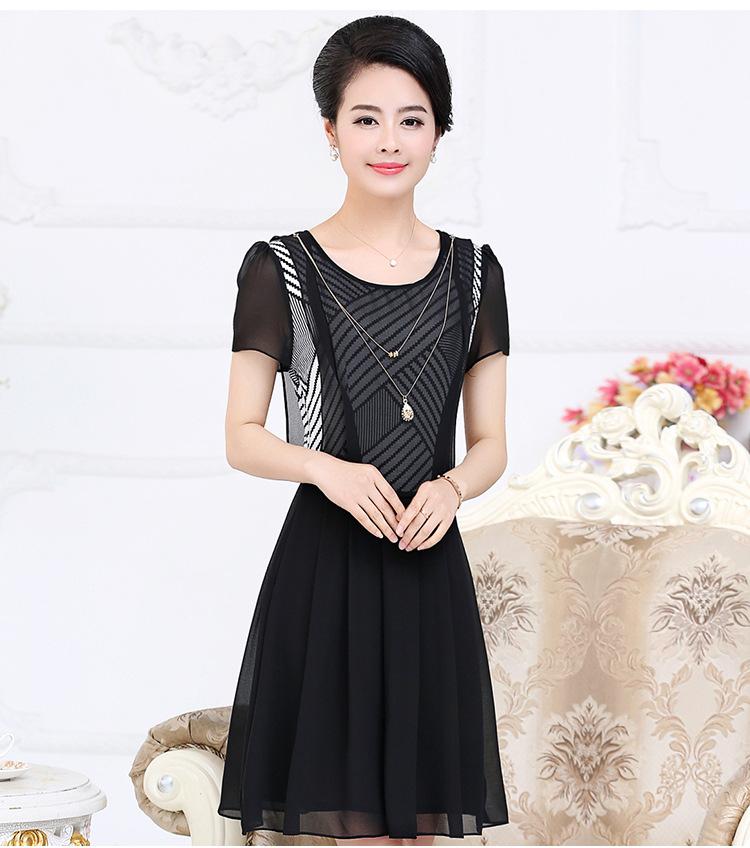 40岁女装新款连衣裙