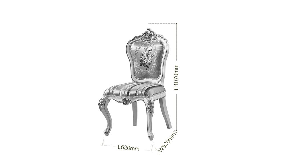 欧式实木餐桌椅组合法式田园长方形餐桌