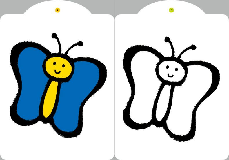小红花 宝宝涂色书本8册儿童简笔画0-2-3-6岁宝宝学画