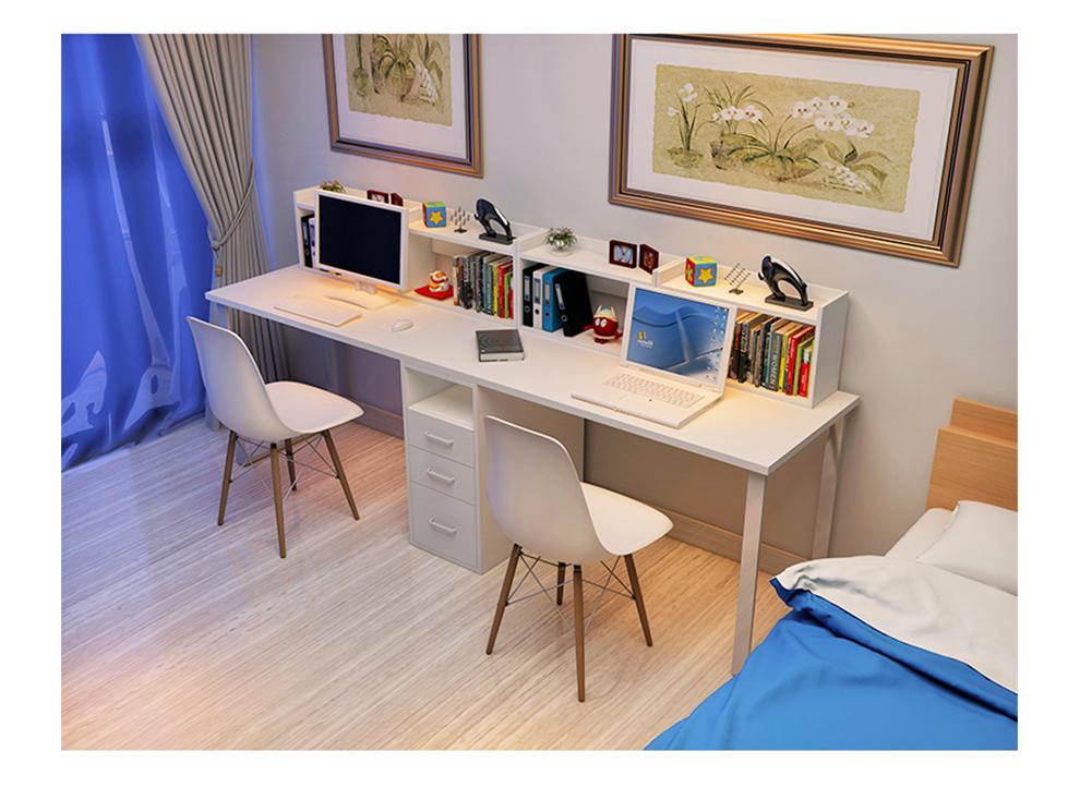 台式电脑桌加长设计图展示