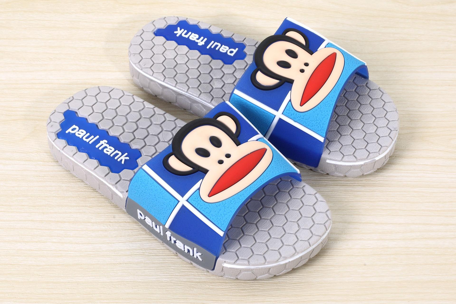 韩版可爱卡通防滑家居家室内男女外贸新款浴室加厚阿华哥拖鞋n 浅灰 3