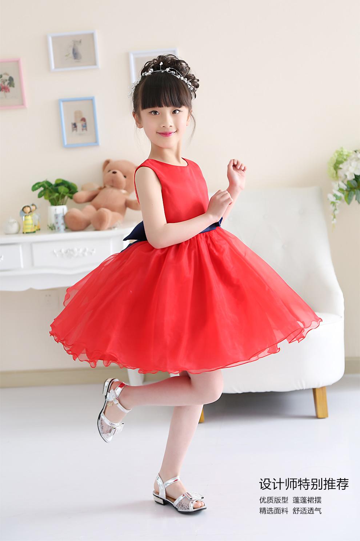 小女孩子衣服表演服装