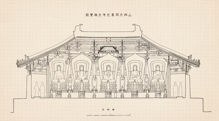 腾彩读库梁思成古建制图笔记本 建筑设计师速写绘画本子 文具生日礼物