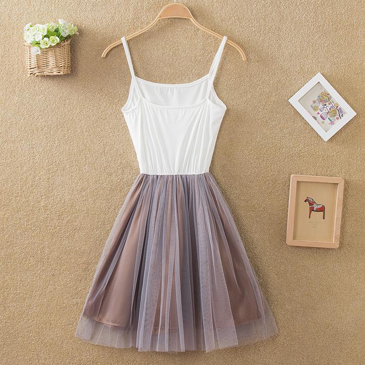 2016夏季女装新款时尚韩版两件套连衣裙大码修身套装裙衬衫裙子潮图片
