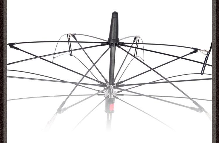妃雅女装*反向雨伞反向伞倒立伞礼品创意c型手柄双层锦润 弯柄红色款图片