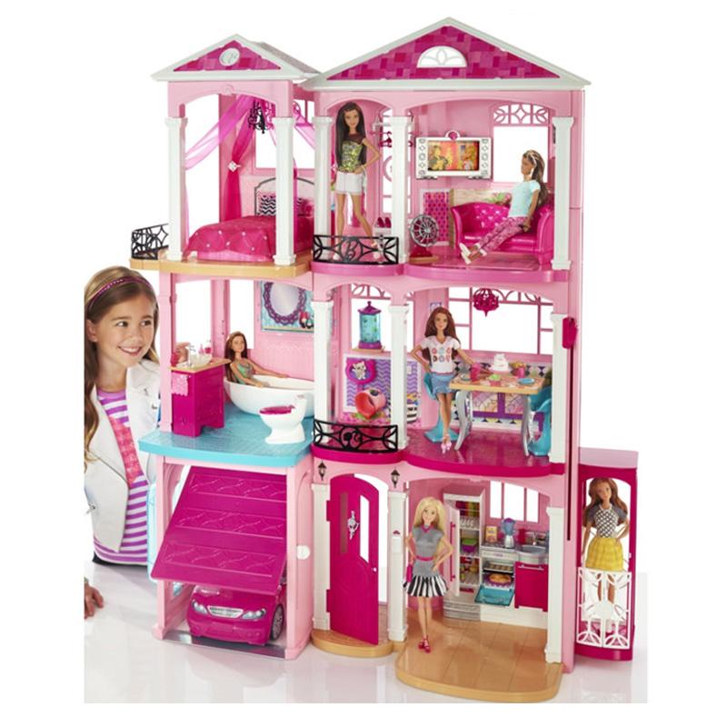 芭比娃娃女童娃娃大女孩儿童巴比套装公主衣服过家家barbie礼盒换装KT猫玩具图片