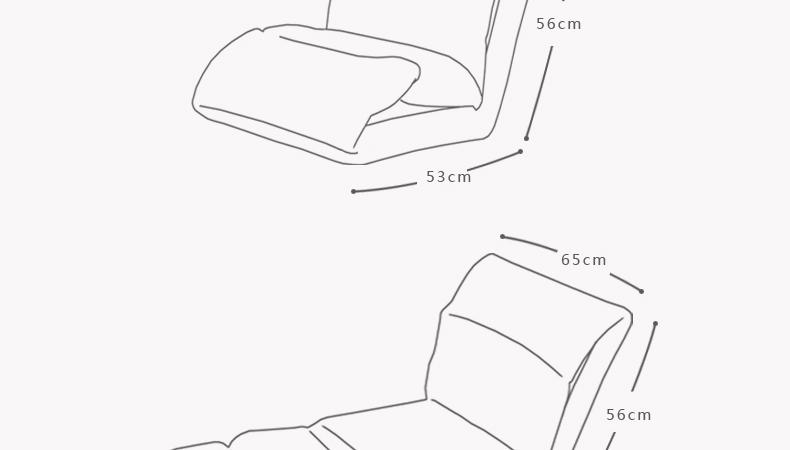 宿舍家具手绘线稿