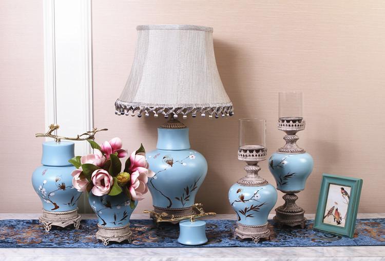 腾彩创意简约现代新中式美式客厅电视柜摆件花瓶陶瓷工艺家居装饰j1图片