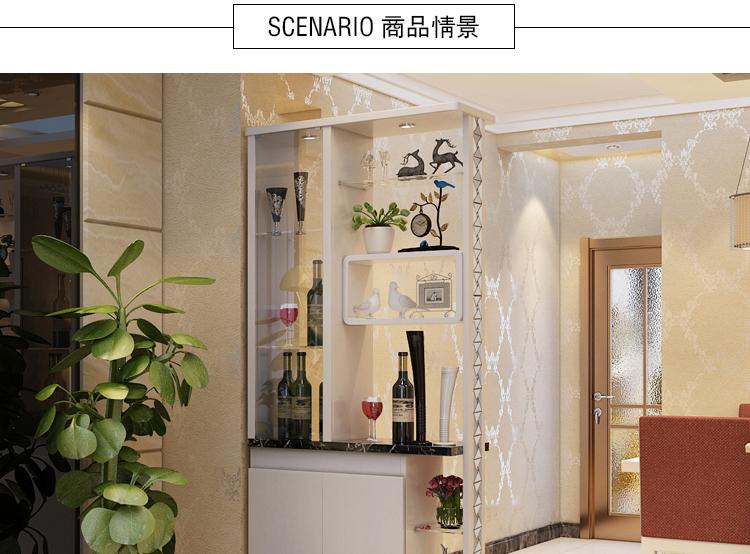 思欧迪 简约现代客厅装饰屏风小户型玄关酒柜双面隔断鞋柜进门间厅柜