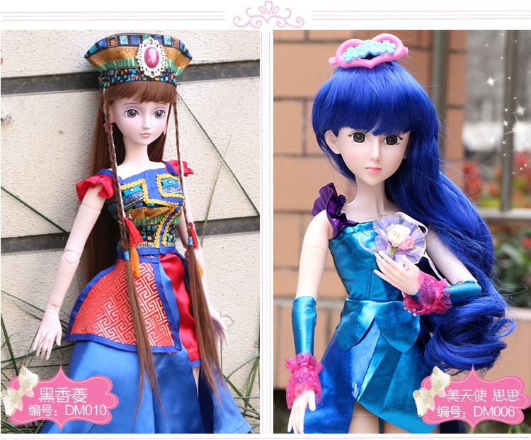 正版叶罗丽娃娃 夜萝莉仙子精灵梦套装 芭比娃娃 仿真洋娃娃 女孩玩具图片