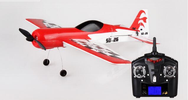 固定翼滑翔机遥控飞机模型玩具 比赛航模飞机 红色