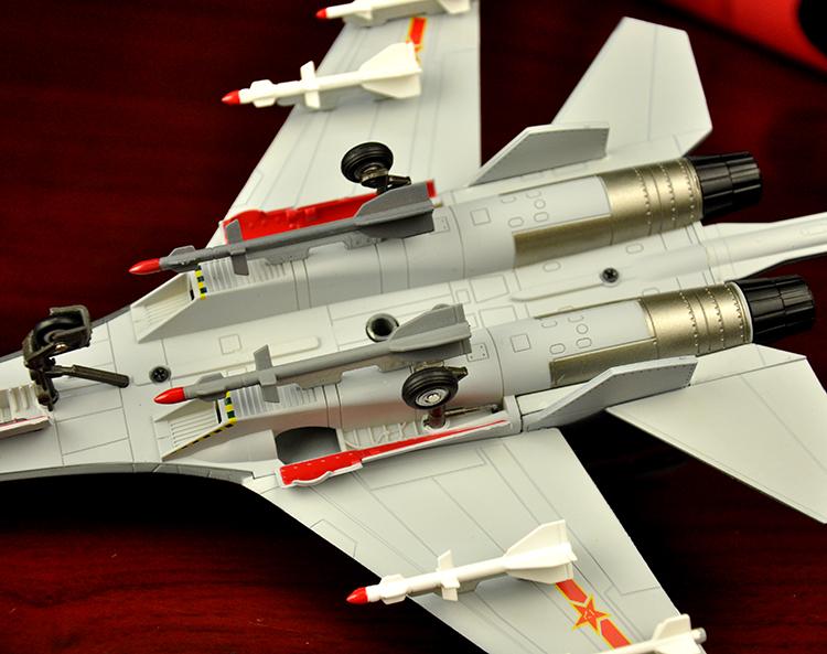 1:72歼11航模飞机模型