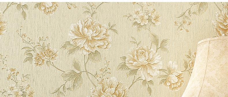 谷米壁纸 美式田园壁纸 复古大花客厅壁纸 卧室墙纸 背景墙墙纸 gp图片
