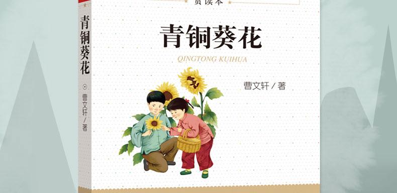 青铜葵花封面设计