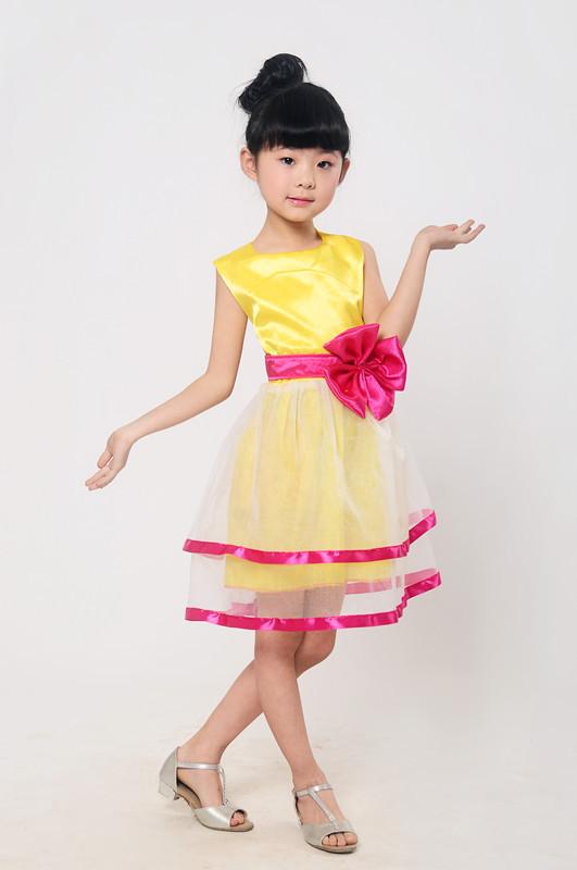 六一儿童节学校演出服装女童舞蹈服表演裙跳舞舞台装