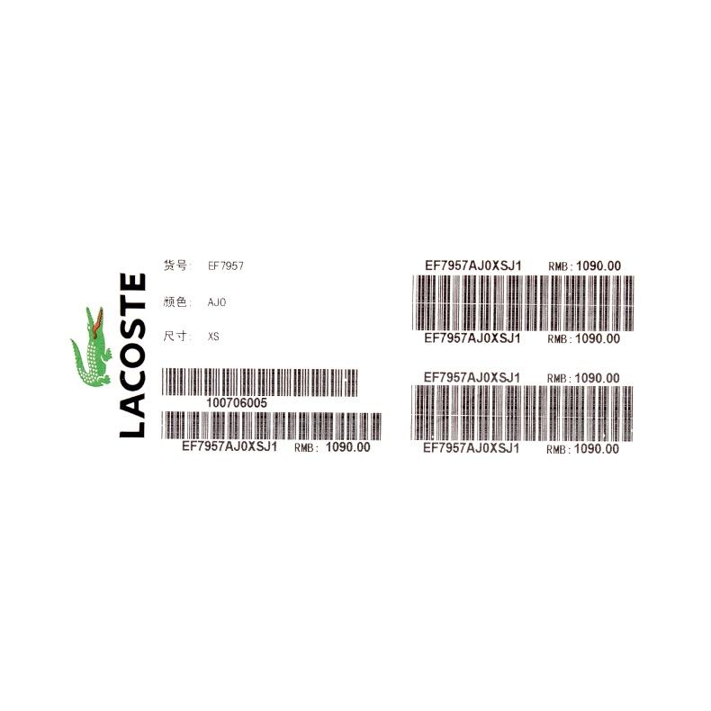 Đầm nữ LACOSTE LVE EF7957J1 AJ0 0M - ảnh 24