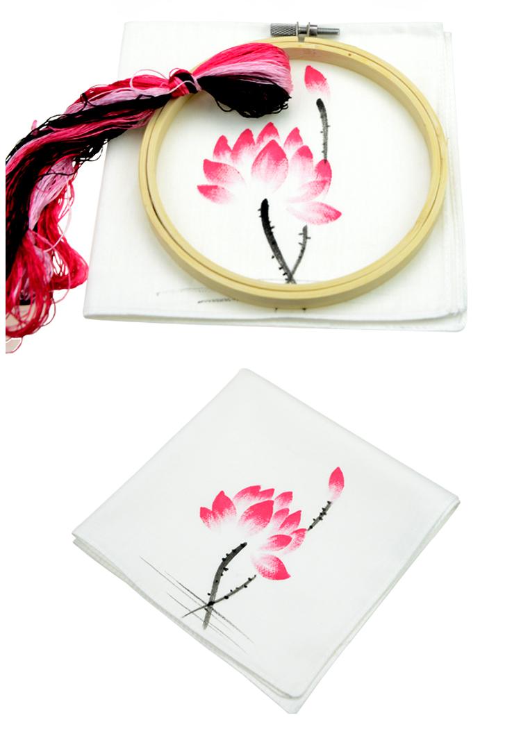 套件 棉手绘手帕