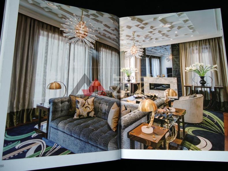 设计派对之纽约风 美国纽约别墅豪宅公寓 现代简约轻奢华风格室内装饰