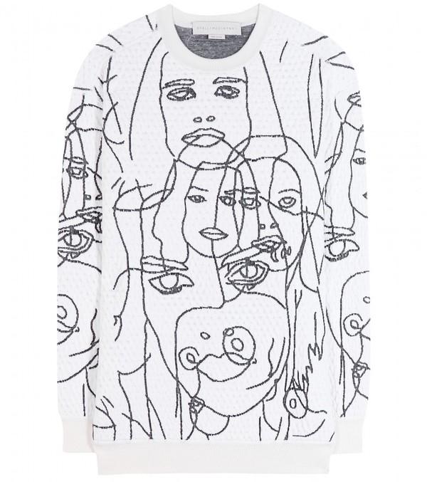 服装毛衣手绘效果图
