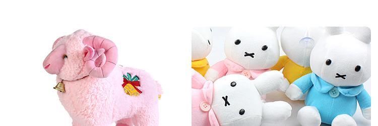 汤姆猪毛绒玩具铃铛羊公仔抱枕可爱布娃娃生日礼物创意玩偶小绵羊