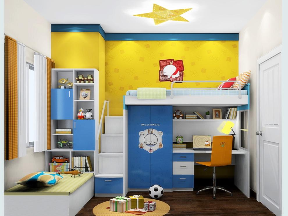 尚品宅配 床定制 榻榻米 儿童床 免费家具设计 儿童房