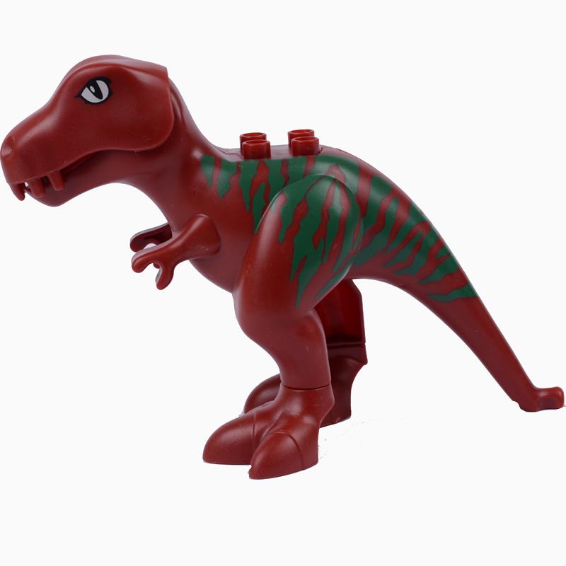 骏达隆小动物 大象 霸王龙 鳄鱼 三角龙 霸王龙