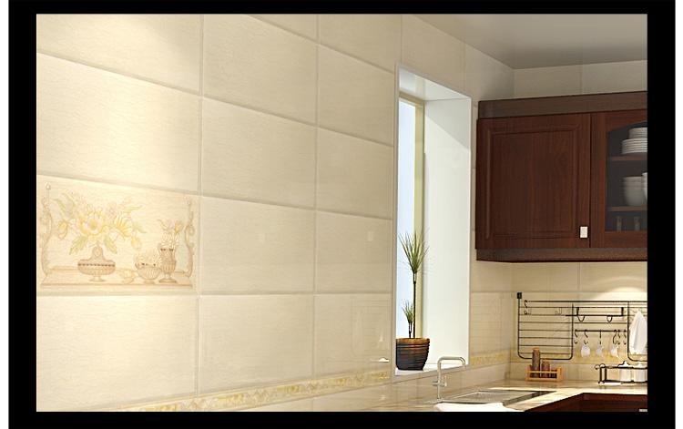 雄派 厨房瓷砖300*300 卫生间墙砖300*600 花片腰线 阳台地砖 釉面砖图片