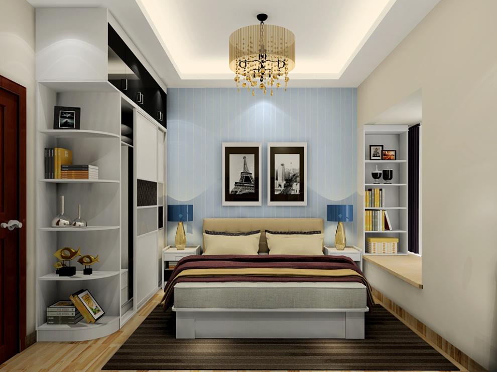 尚品宅配 衣柜定制 整体衣柜 床 梳妆台 免费家具设计图片
