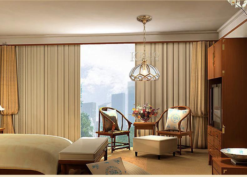 全铜灯欧式卧室阳台过道走廊玄关门厅图片