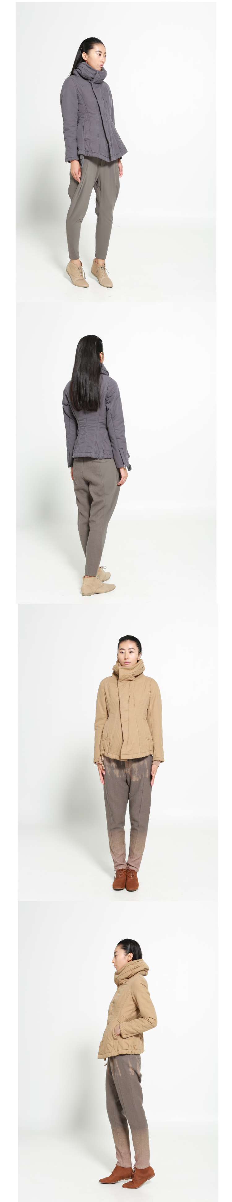 jnby江南布衣别致女性化棉衣