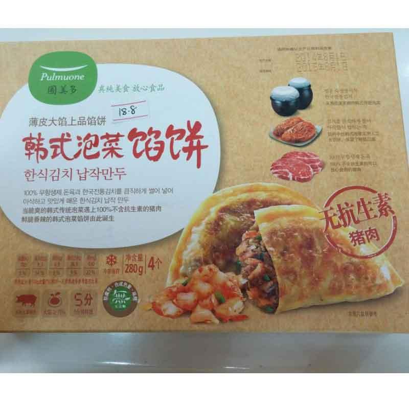 圃美多韩式泡菜馅饼280g(仅限北京).