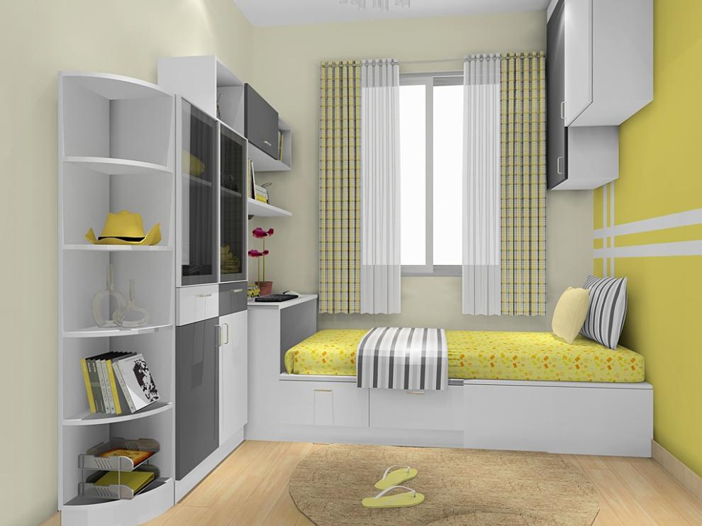 尚品宅配 全屋家具定制 床 儿童房 榻榻米 衣柜 儿童房家具14件