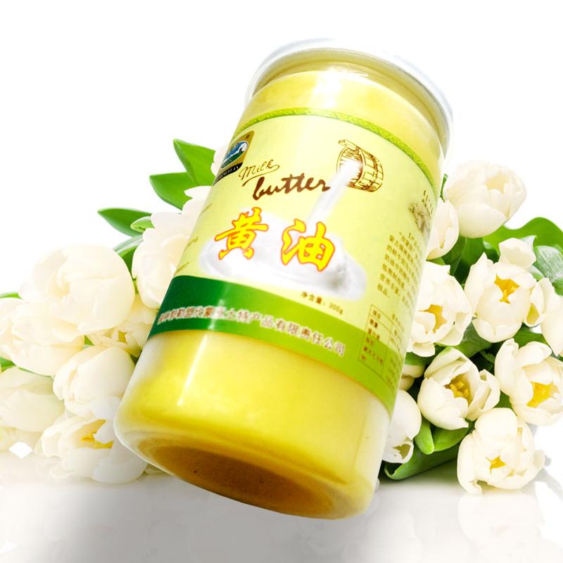 商品名称:草原力生 内蒙古特产无盐黄油动物奶油  300g