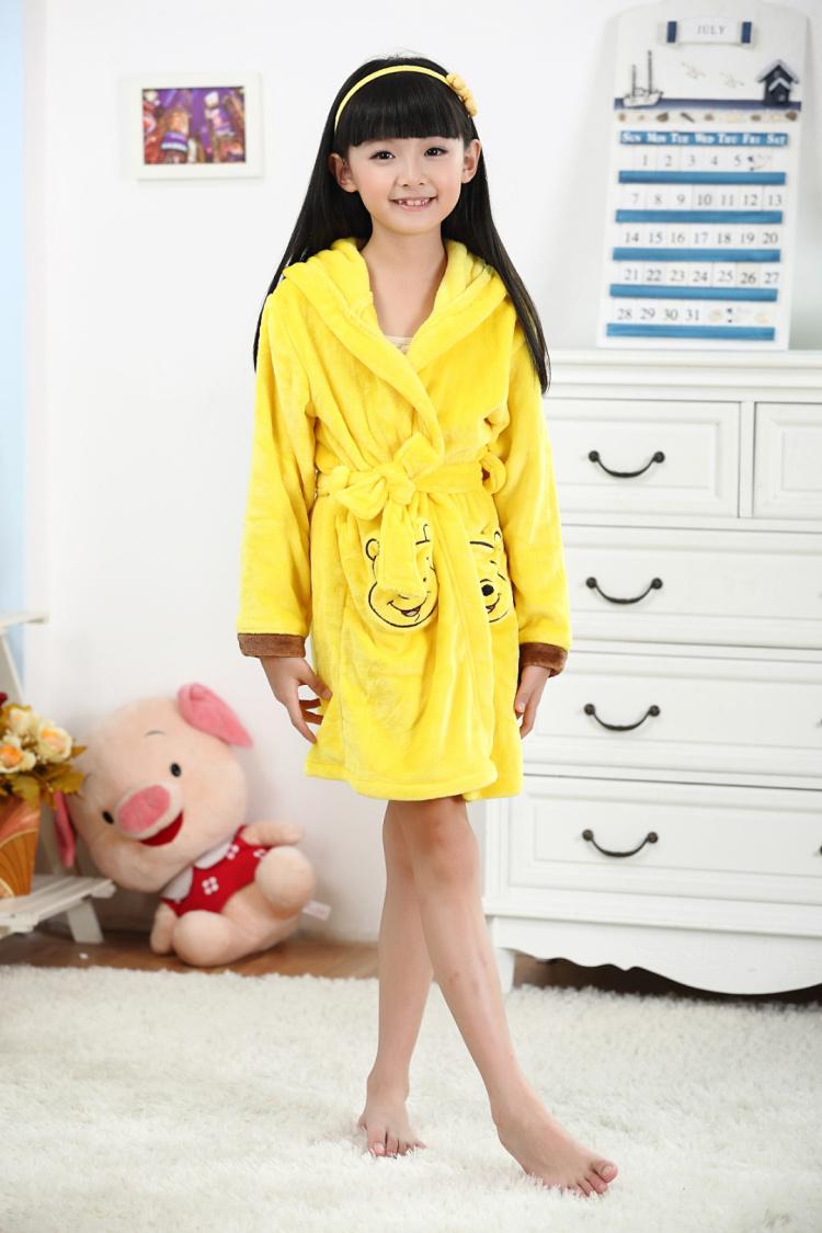 秋冬季儿童睡衣男孩女童珊瑚绒卡通小孩家居服长袖