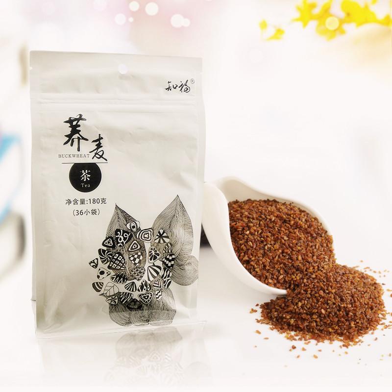 知福花草茶 荞麦茶 麦香味袋泡茶180g 含36泡独立小包装