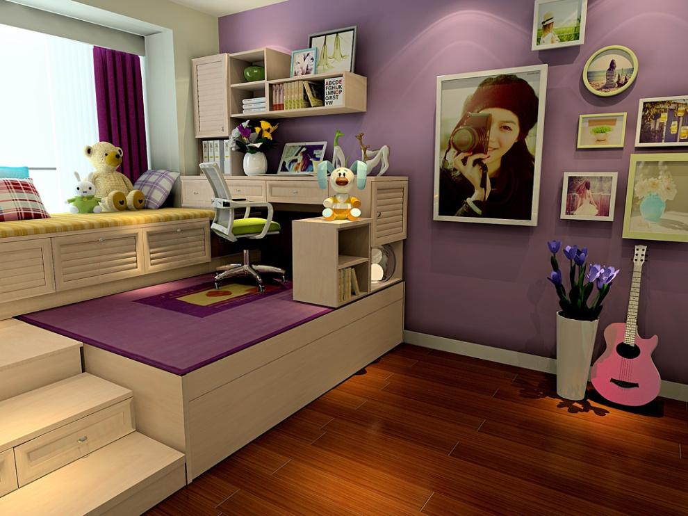 尚品宅配 床/卧房定制 床/榻榻米 免费家具设计 卧房家具16件图片