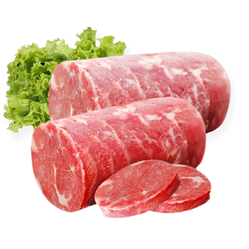 商品名称:草原力生 内蒙古特产锡盟清真新鲜精选羔羊肉小卷 1000g
