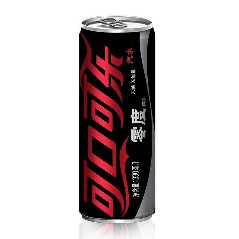 可口可乐(coca-cola) 可口可乐 零度可乐 330ml*12罐