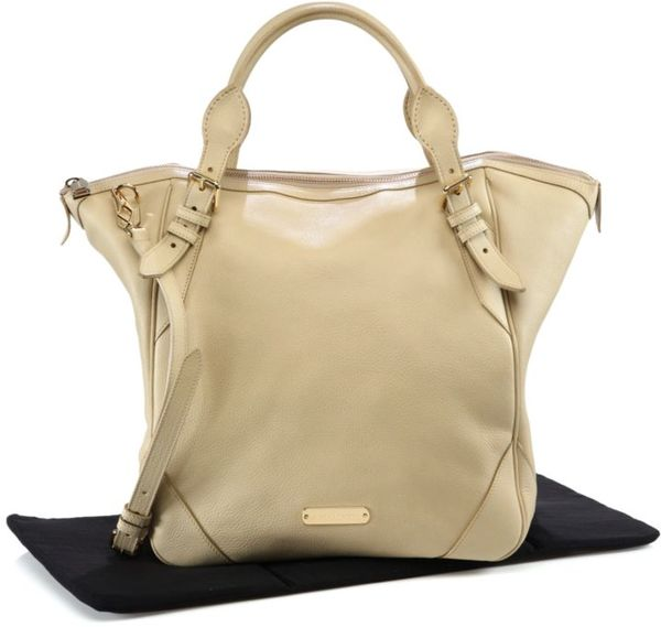 diaper bag leather designer  pebble-grain leather