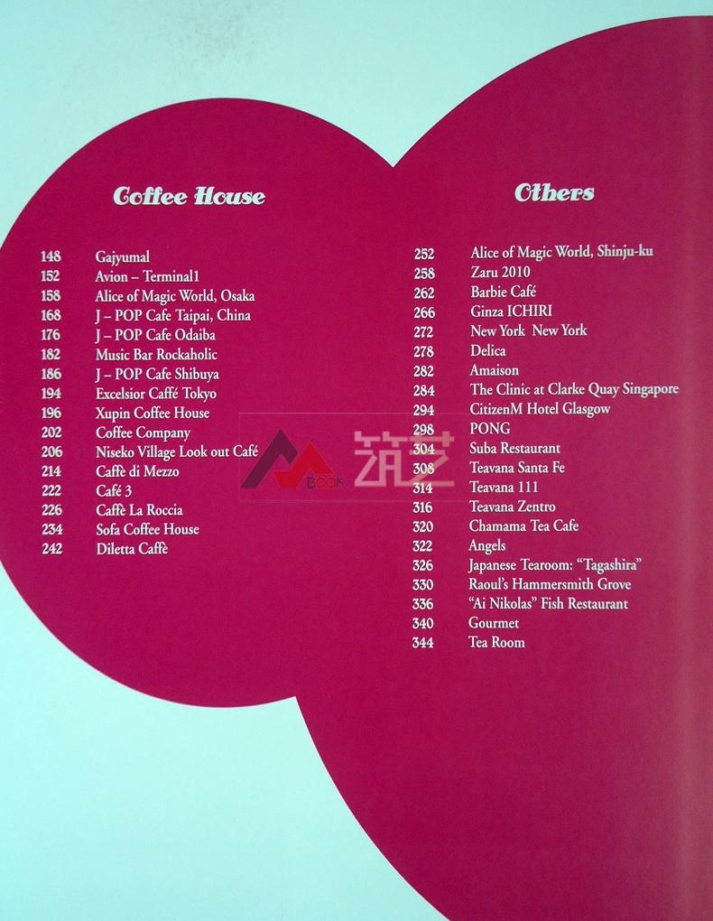 甜品站 英文版 食品雪糕咖啡奶茶店小型餐饮餐厅店铺装饰装修设计书籍