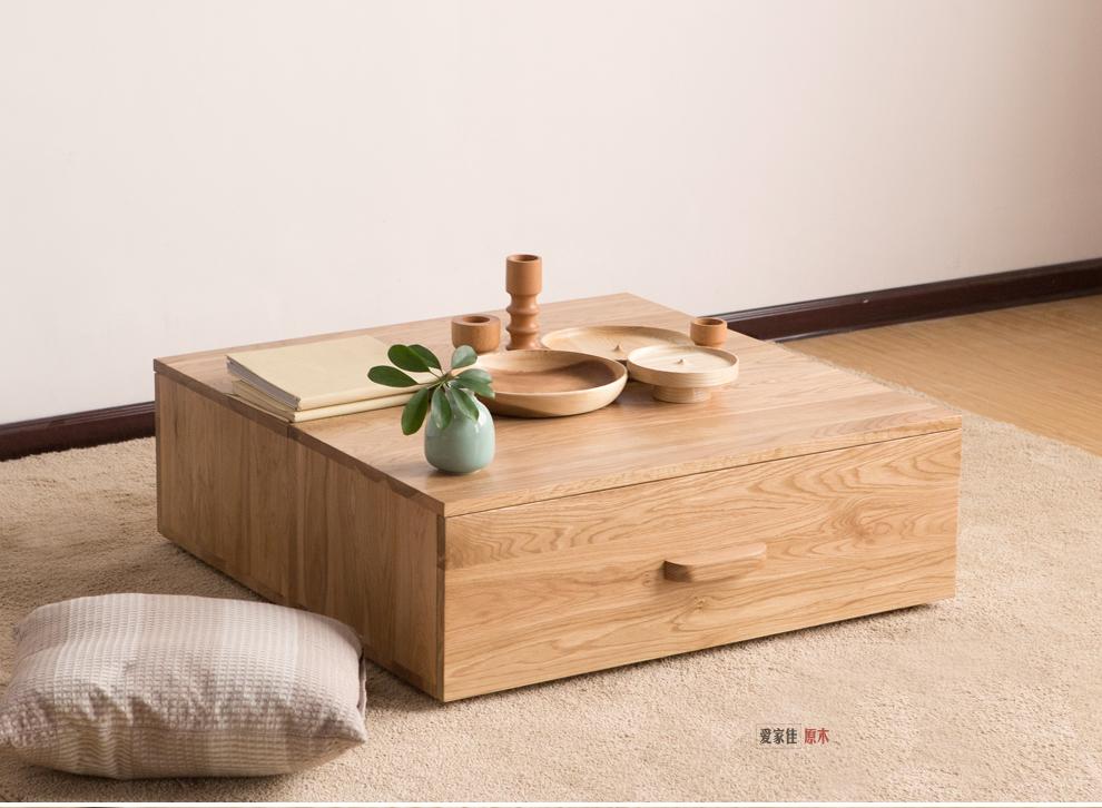爱家佳 实木家具北欧电视柜组合 创意橡木斗柜子 储物