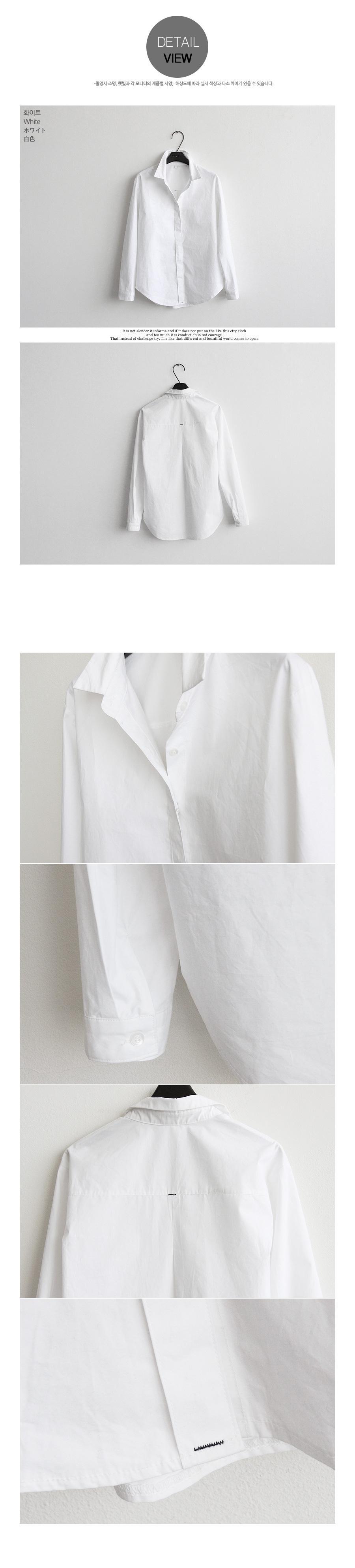 2014naning9韩国代购文艺范小清新白衬衫 女 长袖修身