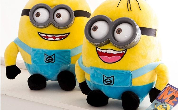 汤姆猪 毛绒玩具立体小黄人公仔抱枕可爱布娃娃生日礼物创意玩偶超萌