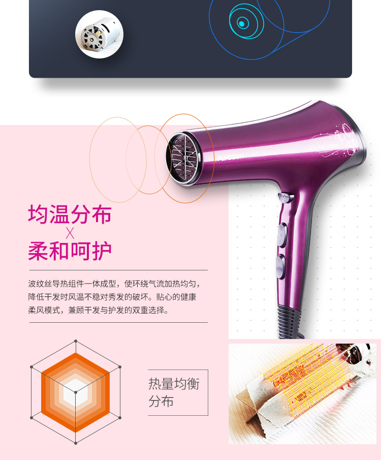 Máy sấy tóc FLYCOFH6273 12 - ảnh 7
