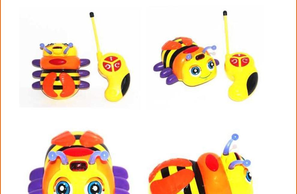 银辉儿童玩具遥控车欧博士可爱卡通遥控精灵 81695s 七星瓢虫 81695s