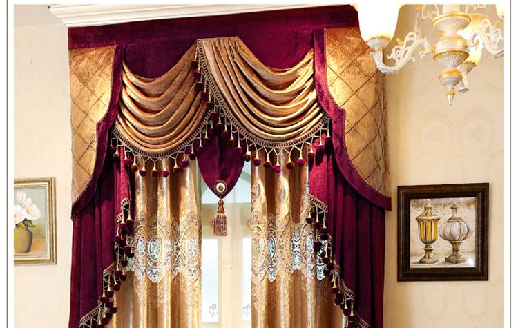 曼凯维奇 欧式奢华意大利绒布丝绒镂空刺绣窗帘 客厅卧室刺绣纱帘图片