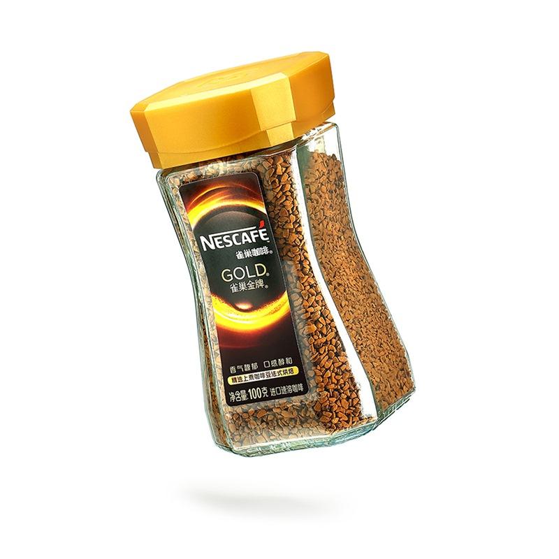 法国进口 雀巢(Nestle) 金牌咖啡法式烘焙 100g(新老包装交替发货)