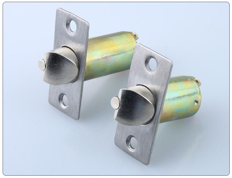 荣力斯 球形锁锁舌 球形门锁锁舌 通用房门锁锁芯 圆柱实心 锁舌长度